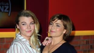 Claudia Schmutzler mit ihrer Tochter Charley Ann