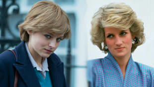 "Emma Corrin als Lady Diana in ""The Crown"""