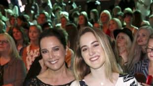 Désirée Nosbusch und Tochter Luka