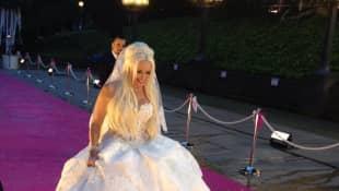 Daniela Katzenberger an ihrer Hochzeit