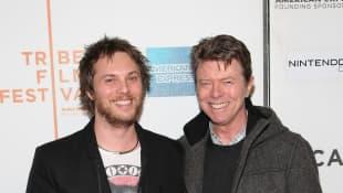 David Bowie und Duncan Jones
