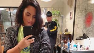 Demi Lovato mit ihrem neuen Tattoo