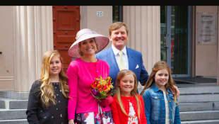 Die niederländische Königsfamilie