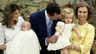 Die spanischen Royals