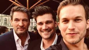 Dieter Bach, Max Beier und Florian Frowein