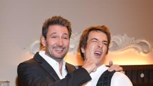 Dieter Bach und Sebastian Fischer