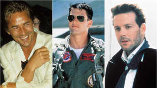 Don Johnson, Tom Cruise und Mikey Rourke