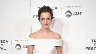 Emma Watson sexy Tribeca Film Festival
