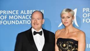 Fürst Albert und Charlène von Monaco