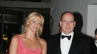 Fürstin Charlène Fürst Albert von Monaco früher