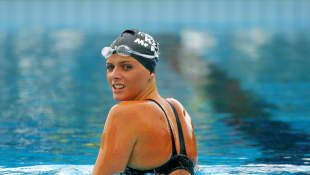 Princess Charlene of Monaco used to be an Olmypic swimmer
