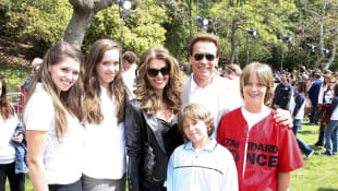 Familie Schwarzenegger