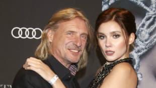 Ungleiches Paar GNTM Kandidatin Model Frank Otto und Nathalie Volk trennen knapp 40 Jahre Altersunterschied