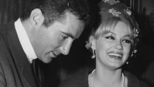 Freddy Quinn und Mamie van Doren