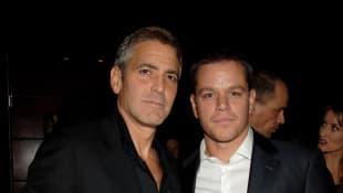 George Clooney und Matt Damon