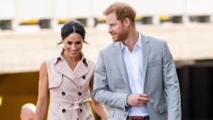 The Duke and Duchess of Sussex visit The Nelson Mandela Centenary Exhibition in London
