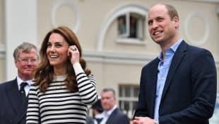Herzogin Kate und Prinz William gratulieren Herzogin Meghan und Prinz Harry zur Geburt von Baby Sussex
