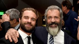 Mel Gibson und Sohn Milo