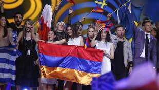 Gewinner des ersten ESC-Halbfinales 2017 in Kiew