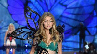 Auch Gigi Hadid durfte für Victoria's Secret laufen