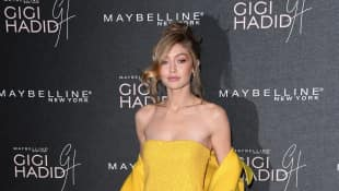 gigi hadid model maybelline new york london