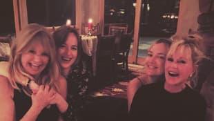 Goldie Hawn, Dakota Johnson, Melanie Griffith und Kate Hudson