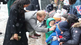 Prince Harry and Duchess Meghan in Bristol