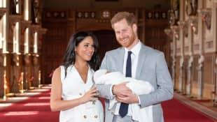 Prinz Harry, Archie und Prinz Harry