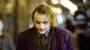 "Heath Ledger als ""Joker"" in ""The Dark Knight"""