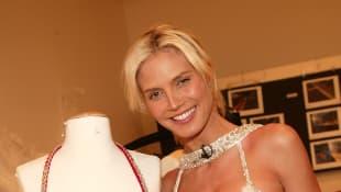 Heidi Klum trägt einen Fantasy Bra von Victoria's Secret