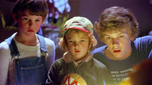 Henry Thomas, Drew Barrymore und Robert MacNaughton