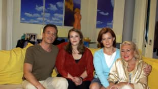 Holger Franke, Janis Rattenni, Petra Blossey und Christiane Maybach