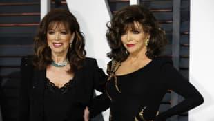 Jackie und Joan Collins