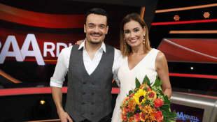 Jana Ina Zarrella nahm nach der Hochzeit mit Giovanni seinen Namen an