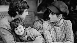 Jane Fonda, Tom Hayden, Troy Garity und Vannesa Vadim