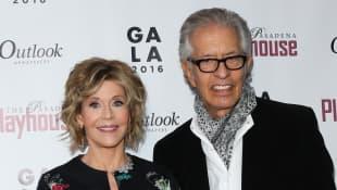 Jane Fonda und Richard Perry
