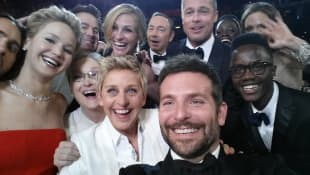 Jared Leto, Jennifer Lawrence, Channing Tatum, Julia Roberts, Kevin Spacey, Brad Pitt, Lupita Nyong'o, Angelina Jolie, Meryl Streep, Ellen DeGenere...