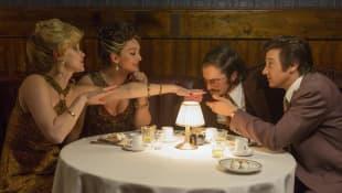 Jennifer Lawrence, Christian Bale, Jeremy Renner