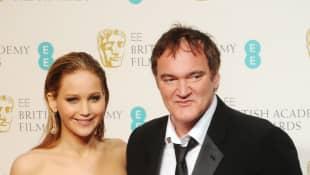 Jennifer Lawrence und Quentin Tarantino