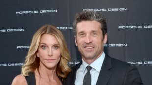 Grey's Anatomy star Patrick Dempsey and his wife Jillian Fink