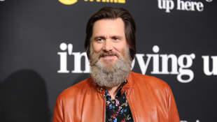 "Jim Carrey bei der Premiere von ""I'm Dying Up Here"""