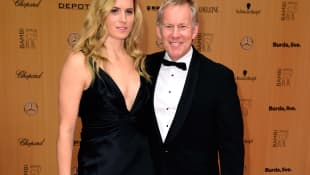 Johannes B. Kerner mit Ehefrau