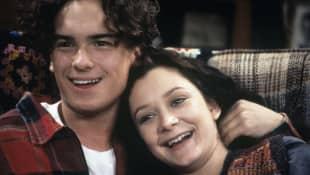 Johnny Galecki und Sara Gilbert