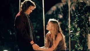 Julia Stiles und Heath Ledger