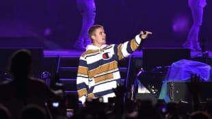 Justin Bieber auf dem V-Festival in England