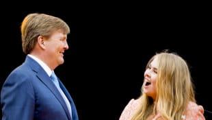 König Willem-Alexander und Prinzessin Amalia