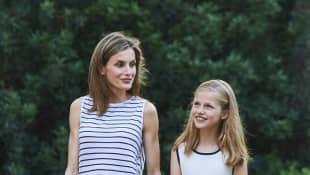 Königin Letizia und Prinzessin Leonor