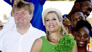 Königin Máxima und König Willem-Alexander der Niederlande
