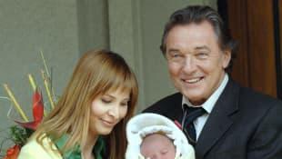 Karel Gott mit Ehefrau Ivana und Tochter Charlotte