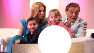 Karel Gott und seine Familie